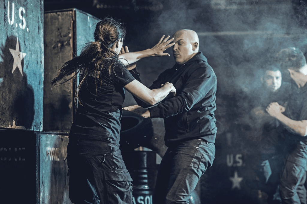 Krav Maga fighting group training