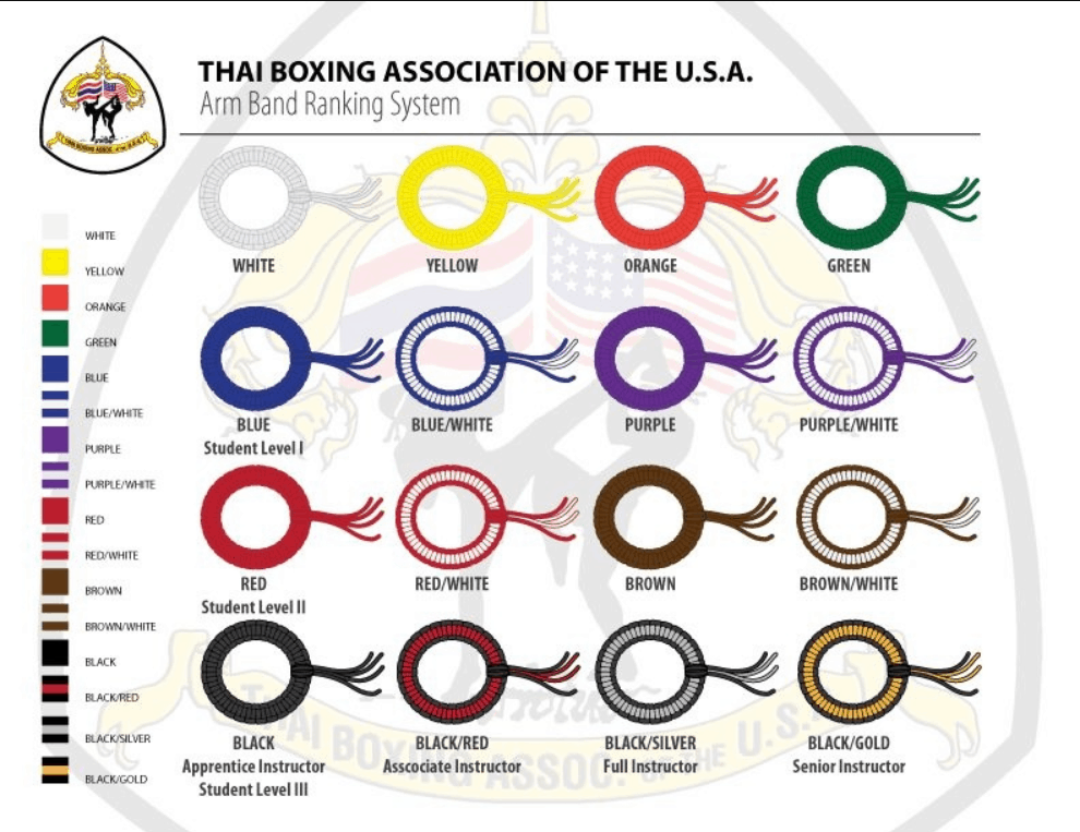 BLACK MUAY THAI KICKBOXING BOXERS TRADITIONAL ARM BANDS