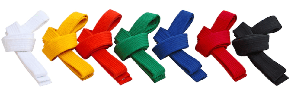 taekwondo belt colors